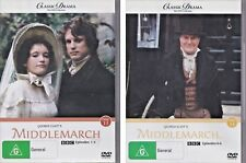 Classic Drama BBC (Disc 13 & Disc 14) DVD  MIDDLEMARCH  R2+4 PAL 2008 LIKE NEW!
