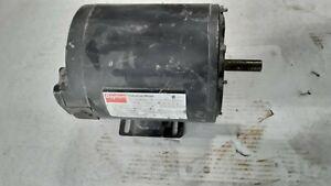 DAYTON 3N042K 3/4HP ELECTRIC MOTOR 230/460V 3PH 1725RPM F56 FRAME