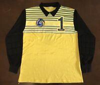 Rare Vintage UHLSport NASL Hubert Birkenmeier New York Cosmos Soccer Jersey