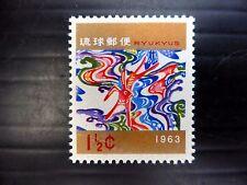 RYUKYU 1962 New Year SG139 U/M FP9476
