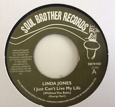 More details for linda jones - i just can't live my life / my heart needs a break