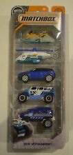 MATCHBOX 2018 5-pack *ICE VOYAGERS* Range Rover Evoque,Vantom,Ghe-o Rescue