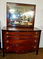 Mahogany Chest of 3 Drawers with Mirror Made by Dixie