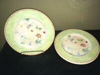 """(4) Royal Stafford GARDENER""""S JOURNAL Dinner Plates *****"""