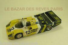 MINI RACING. PORSCHE 956. NEW MAN Le Mans. 1983.  KIT métal monté. échelle 1/43