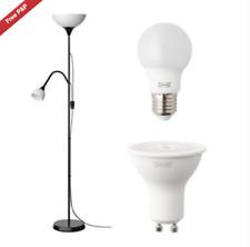 Ikea NOT Floor Free Standing Lamp Reading Night Light Uplighter 2 colours
