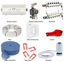 Water Underfloor Heating Multi Zone or Room Kit -Wet 5 Layers Pipe 120m²6 Zones