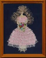 Front View  - Art Ribbon & Lace Doll Pattern vintage #5