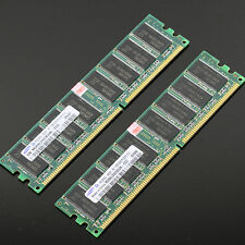 Samsung Chipset 2GB 2x 1GB PC3200 DDR 400 Mhz Low density memory 2Rx8 CL3 DIMM