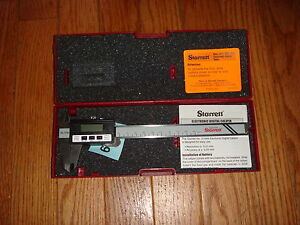 Starrett Electronic CALIPER, METRIC ONLY,  #721MAX-150. 0mm- TO- 150mm Brand New