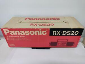 Panasonic RX-DS20 CD Radio Cassette Boombox Boom box stereo new !