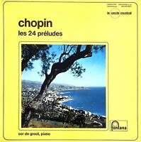 Chopin LP Les 24 Préludes - France (G/EX)