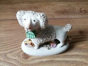 Vintage China Poodle Ornament