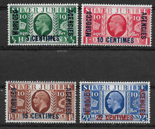 Morocco , Great Britain , 1935 , Silver Jubilee , Set Of 4, Perf ,Vlh , Cv$14.35