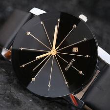 Luxury Men's Women Stainless Steel Date Quartz Analog Boy Sport Dial Wrist Watch