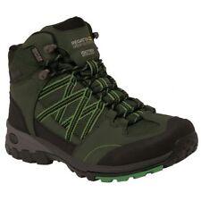 Stivali, anfibi e scarponcini da uomo trekking, escursioni, arrampicate verde