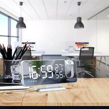 Radiowecker mit Projektion Funkuhr LED, USB, Funk, Projektion, Funkwecker Neu