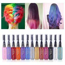 New Temporary Color Hair Dye Mascara Hair Chalk Non-toxic Hair Dye Salon Kit DIY