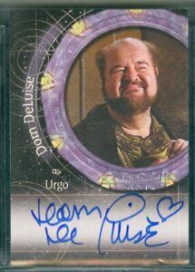 Stargate SG-1 Season 7 ( A 64 ) Dom Deluise as Urgo  Autograph Card
