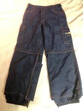 Coldwave Freestyle Snow Pants Size 36 Blue/Orange Trim
