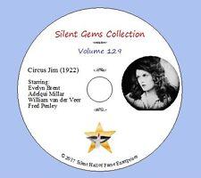 "DVD ""Circus Jim"" (1922) starring Evelyn Brent, Classic Silent Drama"