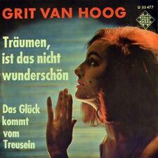 """7"""" GRIT VAN HOOG Das Glück kommt vom Treusein CV JEAN SHEPARD TELEFUNKEN 1962"""