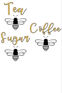 Biscuit and bee label - Custom