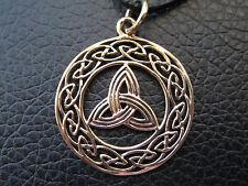 Keltischer Knoten Bronze Ketten Anhänger Keltenknoten     / BA 408