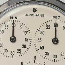 stopwatch pocket watch Good Working vintage Junghans Meister cal. 628 chrono