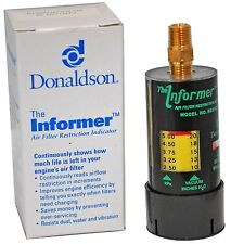 "DONALDSON AIR FILTER MINDER KIT GAUGE & FITTING X002103 20"" RESTRICTION LIMIT"