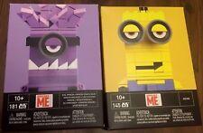 472 Teile mit 2 Figuren Mega Bloks Minions Despicable Me Supervillain Jet