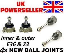 4 x BALL JOINTS BMW E36 1990-2001 INNER & OUTER berlina coupe touring compact