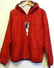 Topman PEOPLES Newmarket (talla S) Rojo Reversible Ligero nailon Chaqueta