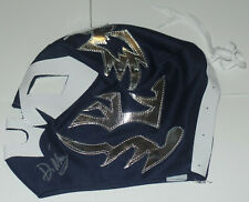 Dr Wagner Jr Signed Auto'D Mask Lucha Libre Cmll Aaa Njpw Champ Blue Silver Mex