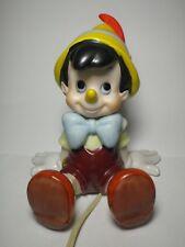 Pinocchio Porcelain Lamp Figure Walt Disney Schmid