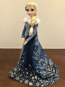 17-inch Doll Elsa Disney Store Limited Ed. Olaf's Frozen Adv. Outfit Deboxed