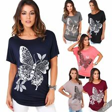 Batwing Viscose Tops & Shirts Plus Size for Women