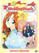 Wedding Peach Vol 2 Pluie's War (DVD) NEW **Free Shipping**