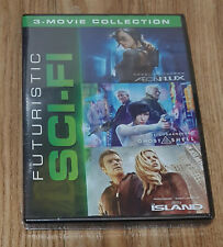 Futuristic Sci-Fi 3 Movie Collection Aeon Flux / Ghost in the Shell / The Island