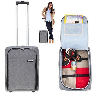 Trolley Handgepäck Koffer Reisekoffer klein 50 Trolly Worldpack 30330-1700 Grau