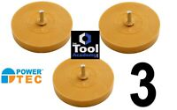 3x Power-Tec Pinstripe Toffee Caramel Wheel Sticker Stripe Removal Remover Tool