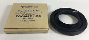 Voigtlander Gegenlichtblende 95 s lens hood 95mm for ZOOMAR 2.8 36-82mm like new