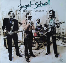 SIEGEL SCHWALL - REUNION CONCERT - ALLIGATOR LABEL - 1988 LP