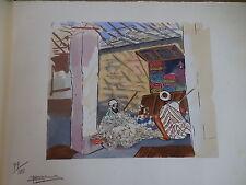 Impressions marocaines.Peintures & croquis M.Gélinet.25 estampes originales 1931