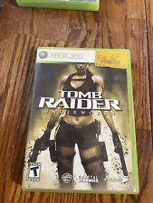 Tomb Raider Underworld - Xbox 360 - w/ Manual - Complete Tested