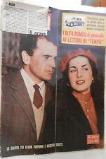 TEMPO 24 gennaio 1953 Pampanini e Girotti Gino Bartali Anastasia mafia Gorizia