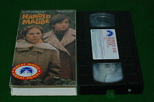 Harold & Maud    VIDEO VHS NTSC USA FORMAT  deleted video rare
