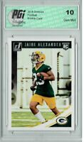 Jaire Alexander 2018 Donruss Football #359 Rookie Card PGI 10