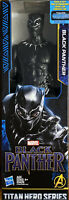 Marvel Titan Hero Series 12-inch Black Panther Figure T'Challa Crease On Box
