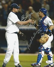 Eric Gagne & Paul Loduca Signed Los Angeles Dodgers 8X10 Photo JSA# W801867